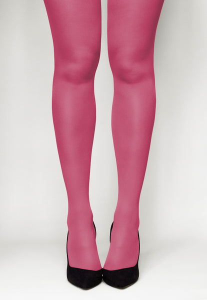 Concorde 60 Denier Coloured Opaque Tights in Fucsia pink