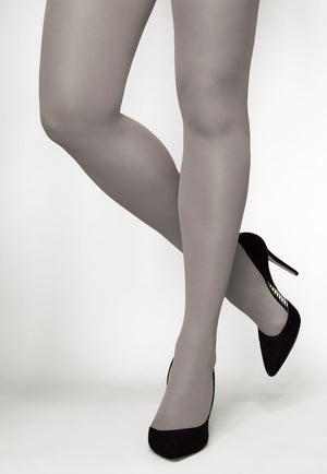 Concorde 60 Denier Coloured Opaque Tights in Grigio light grey