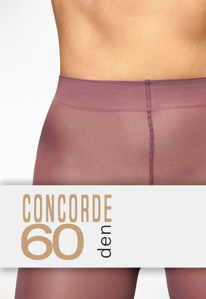 Concorde 60 Denier Coloured Opaque Tights waistband