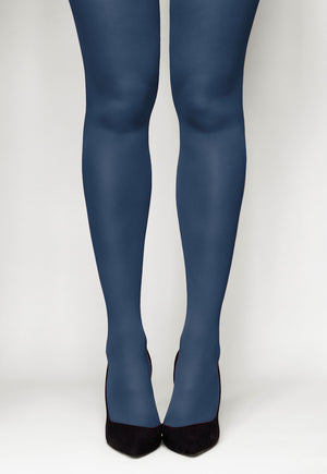 Concorde 60 Denier Coloured Opaque Tights in Marine navy blue