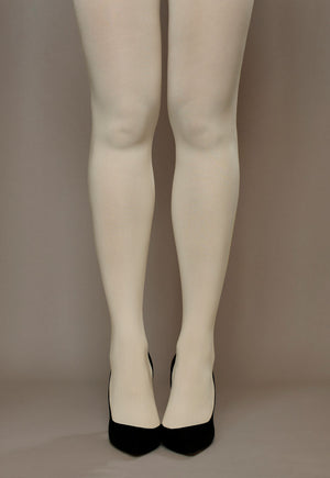 WHITE NATURAL AND MORE RED 100 DENIER OPAQUE TIGHTS BLACK O//S /& XL N//S NAVY