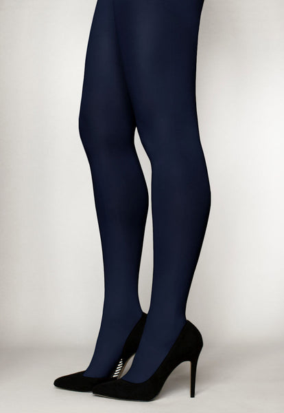 Fiore Nite Nite Opaque 3D Satin Gloss Over the Knee Socks 60 Denier