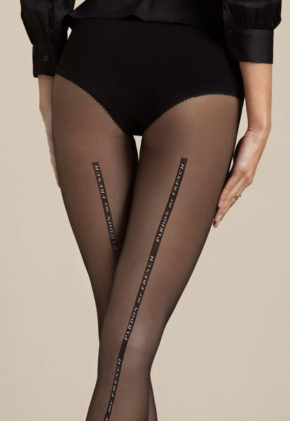 ac576cc84ed70 Dalida 'Pardon My French' Seamed Sheer Tights at Ireland's Online Shop – Dress  My Legs