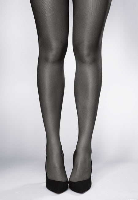 Linda Braided Ribbed Cable Tights by Veneziana