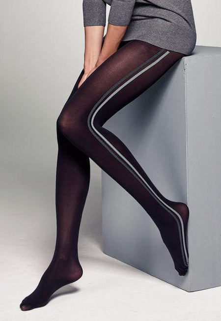 Love Affair Floral Patterned Lace Tights by Fiore
