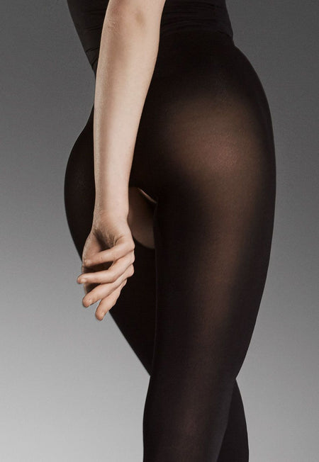 Tiffany 12 Diamond Patterned Lace Tights by Giulia