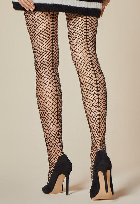 Cute Polka Dot Patterned Sheer Socks by Fiore