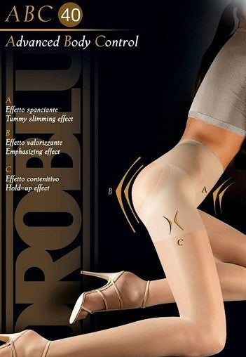 Advanced Body Control 40 Denier Tights by Oroblu