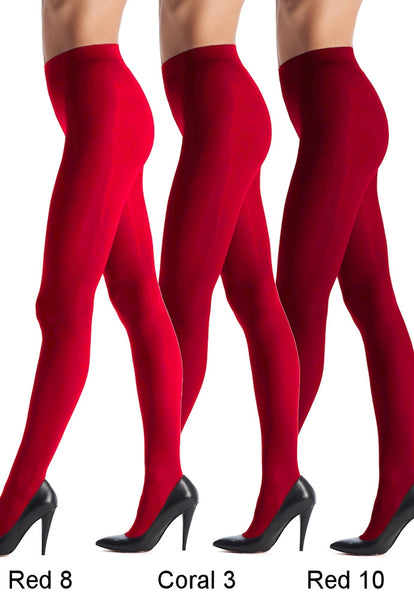 All Colours 50 Denier 3D Opaque Tights by Oroblu
