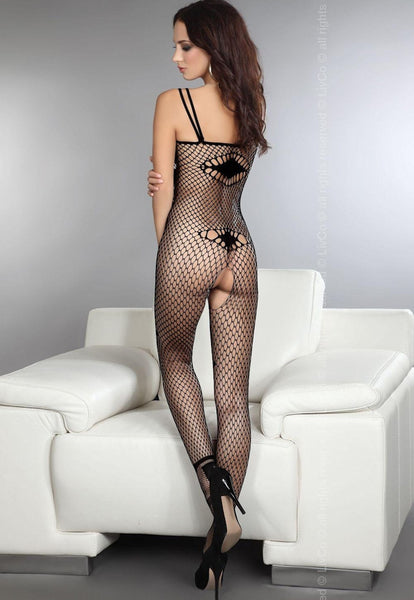 Amkezia All-Over Whale Fishnet Bodystocking by LivCo