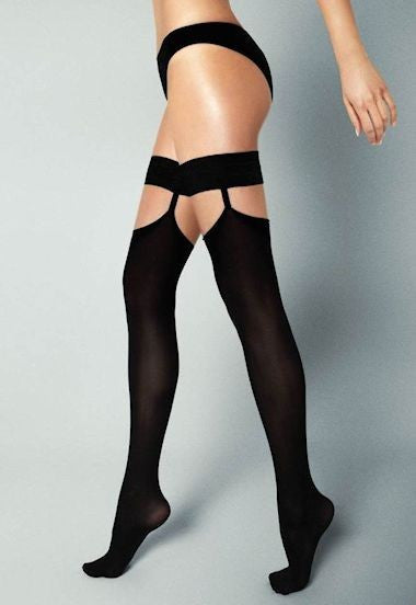 Ar Fabiola 60 Denier Opaque Hold-Ups by Veneziana