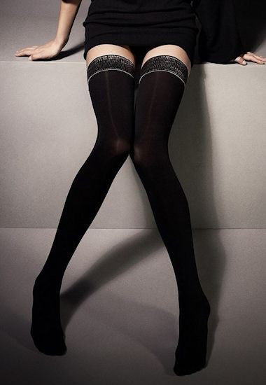 Bruna Mock Hold-Up Fashion Tights by Veneziana