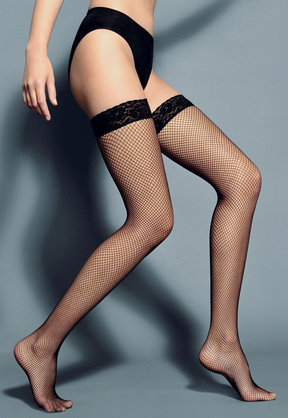 Ar Rete Fishnet Fashion Hold-Ups by Veneziana