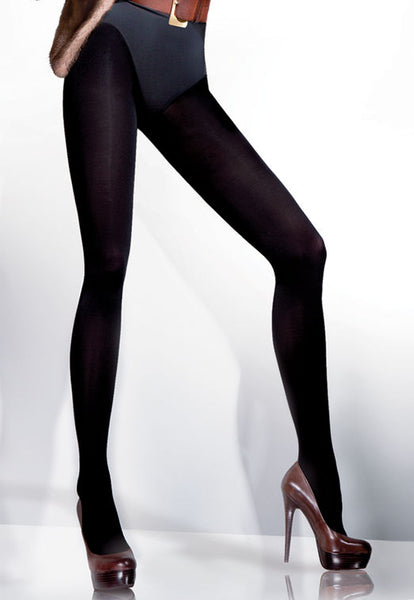 Arctic 500 Den Fleece Opaque Tights by Gabriella