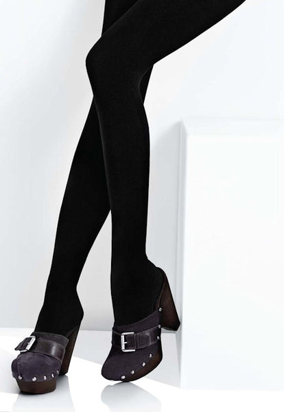 Arctica 250 Den Cotton & Wool Mix Opaque Tights by Marilyn