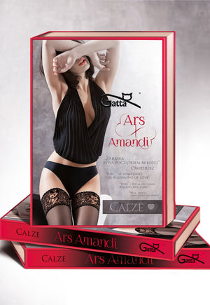 Ars Amandi 01 Sexy Pose Sheer Hold-Ups by Gatta