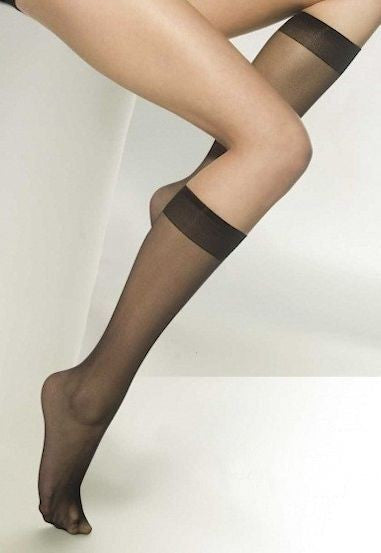 Avi 15 Denier Sheer Knee-High Socks by Gatta