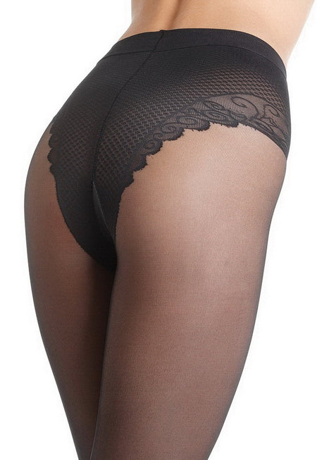 Lastic Lana Light Wool Opaque Tights by Omsa