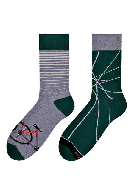 Pineapple Odd Patterned Liner Socks in Green by More