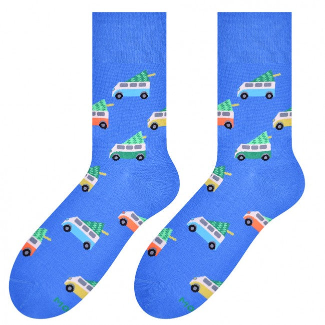 Cars Socks in Blue by More