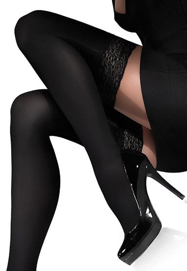 Chanel 100 Denier Matte Opaque Hold-Ups by Marilyn
