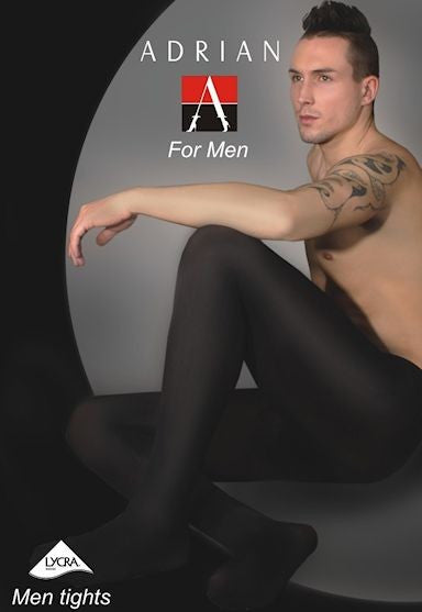City 60 Denier Opaque Tights for Men by Adrian