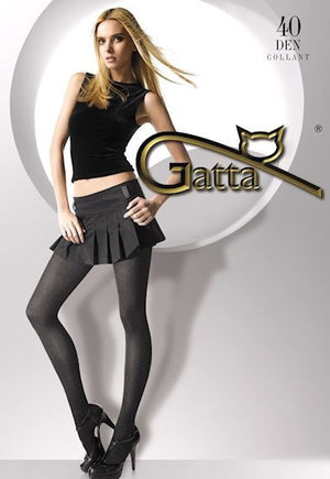 Colette Marl Effect Opaque Hipster Tights by Gatta