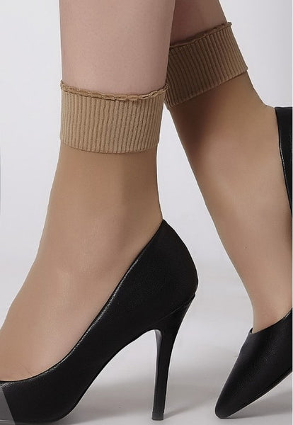 Comfort Top Ankle Socks by Cecilia de Rafael (2 Pairs)