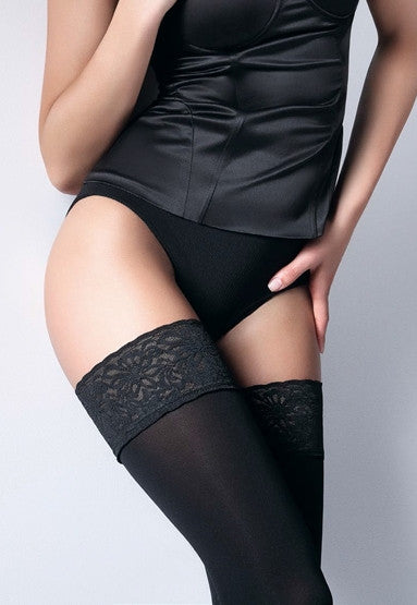 Emotion 100 Denier Matte Opaque Hold-Ups by Giulia