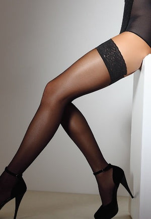 Emotion 40 Denier Sheer Hold-Ups by Giulia