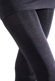 Galaxy 120 Den Glossy Opaque Tights by Giulia in blue