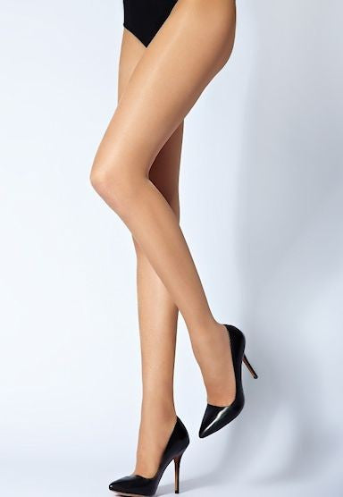 Pretty 15 Denier Glossy Sheer Tights by Veneziana