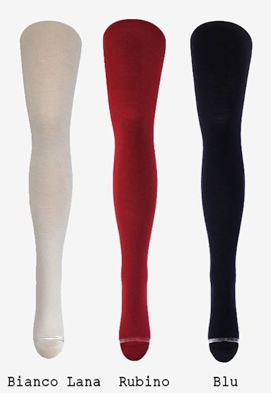Gennifer 100 Denier Wool Tights by Trasparenze