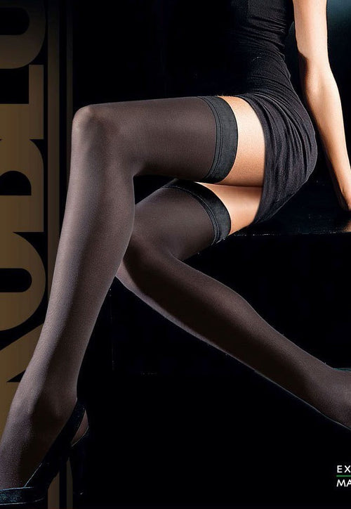 Geo Up 50 Denier Matte Opaque Hold-Ups by Oroblu