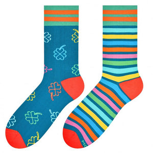 Good Luck Odd Socks in Teal by More
