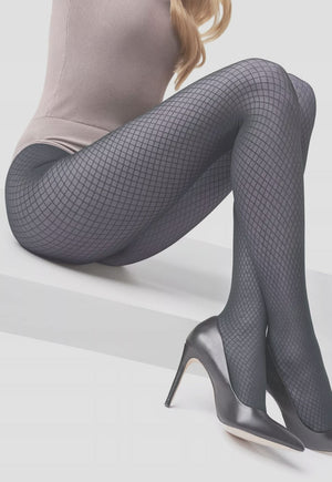 Grace 05 Fishnet Effect Micronet Tights by Marilyn