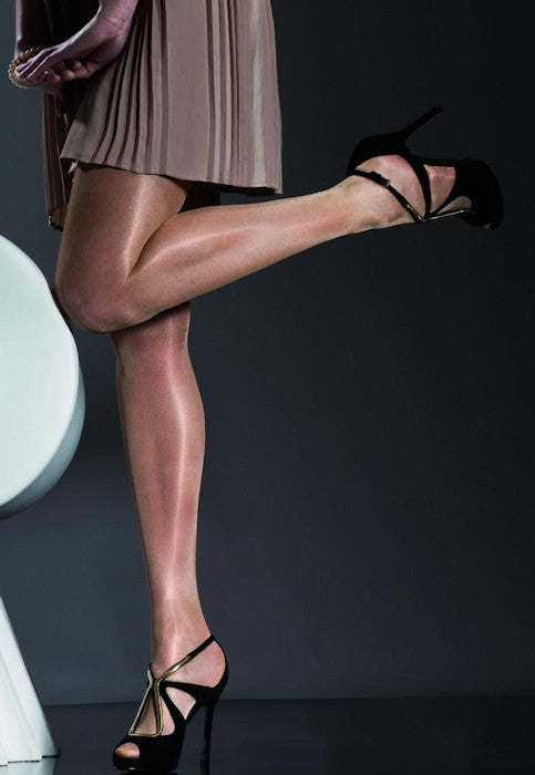 Idalia 20 Den High Shine Glossy Sheer Tights by Fiore