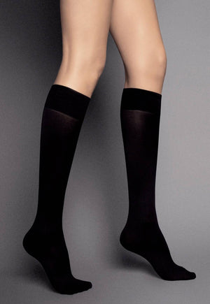 Katrin 40 Denier Opaque Knee-High Socks by Veneziana