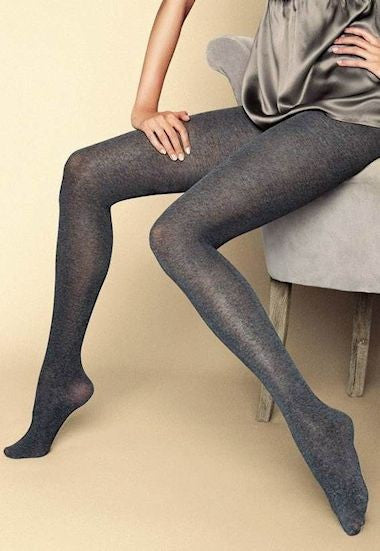 Black Brilliant Super Glossy Opaque Tights by Gatta