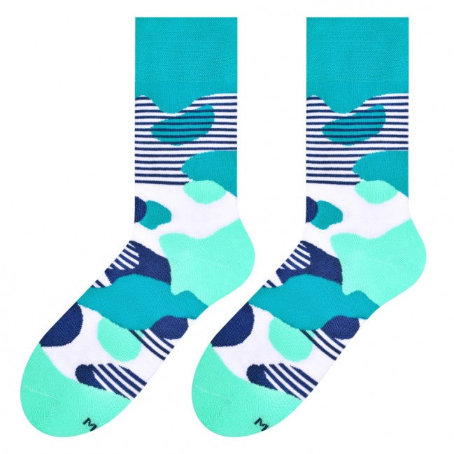 Liquid Socks in Teal by More