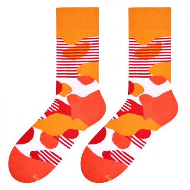 Liquid Socks in Orange by More