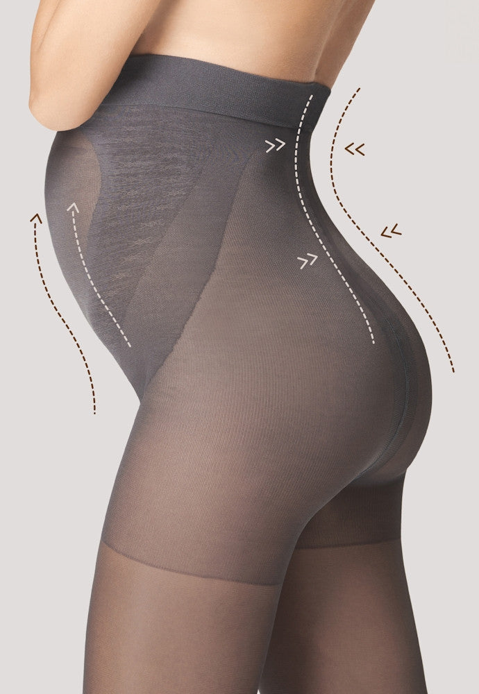 Mama 40 Denier Sheer Maternity Tights by Fiore