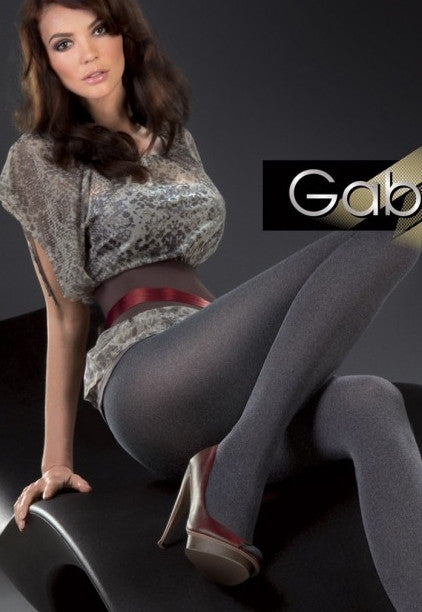 Melange 50 Denier Marl Effect Opaque Tights by Gabriella