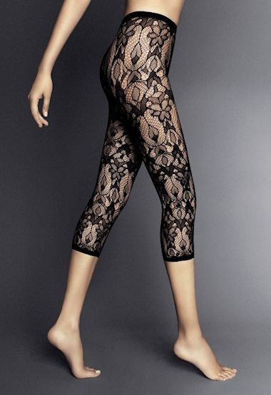 Panta Kimberly Lace Fashion Leggings by Veneziana