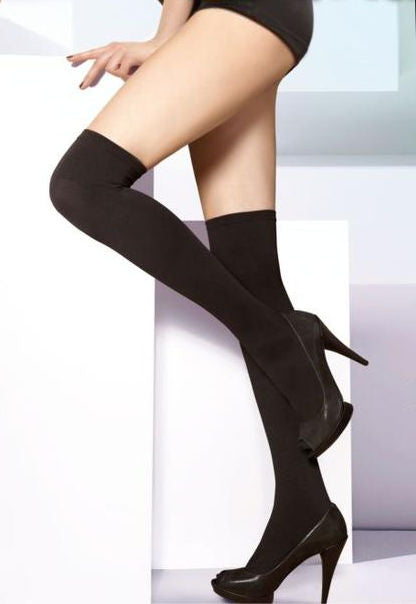 Parigina 300 Denier Opaque Over-Knee Socks by Gatta