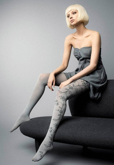Ramage Tweed Patterned Fashion Tights by Veneziana
