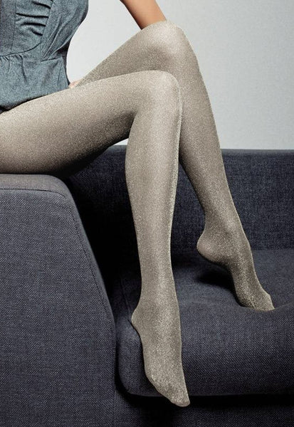 Regina Sparkly Lurex Fashion Tights by Veneziana