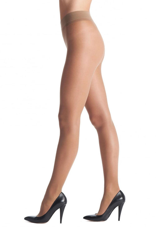 Repos 70 Den Medium Compression Support Tights by Oroblu in Nude Tan