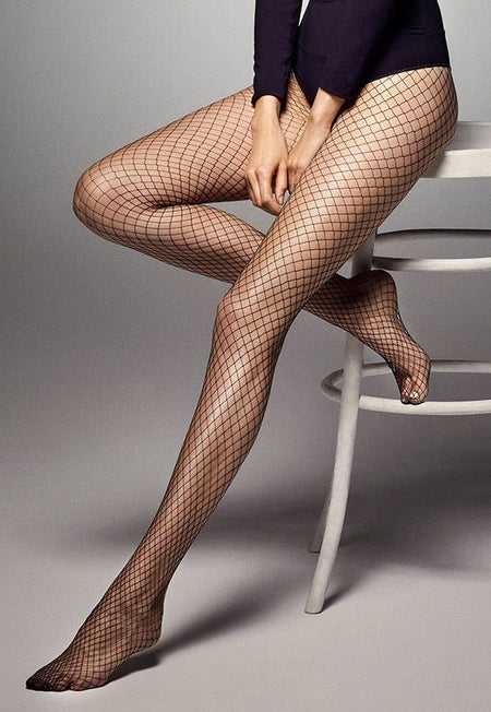 Costina Ribbed Cable Fashion Tights by Veneziana