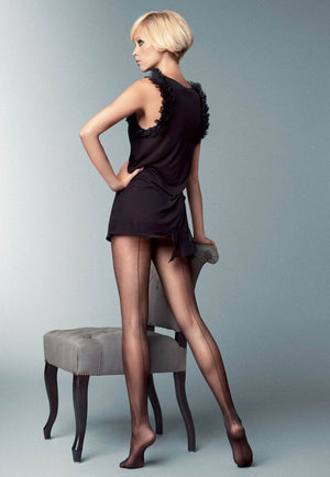 Riga Dietro Backseam Sheer Tights by Veneziana